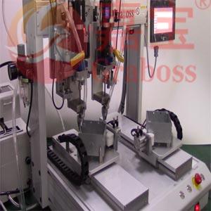 电器铁盒坐标式锁螺丝机解决方案