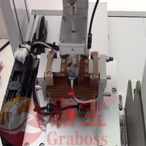 投影仪色板全自动螺丝机案例