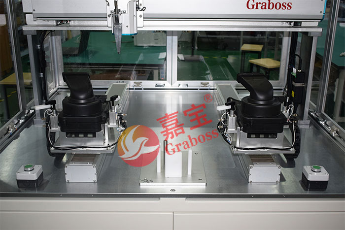 苏州某有限公司锁吸尘器配件自动螺丝机设备