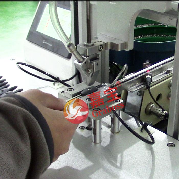 无锡某有限公司锁办公用品圆规自动螺母机
