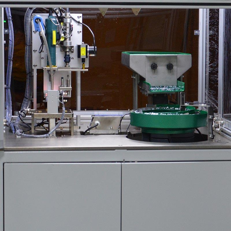 江苏自动锁螺丝机厂家锁端子自动螺丝机设备案例