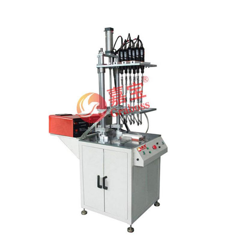 苏州落地式双供料六(6)轴自动锁插排螺丝机案例