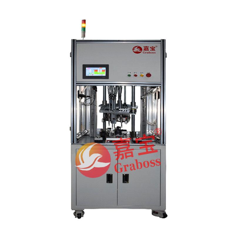 浙江某有限公司落地式8(八)轴自动拆螺丝机案例