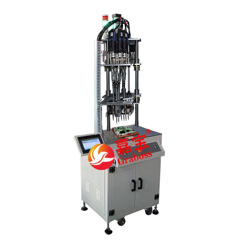 苏州市某有限公司7(七)轴固定式自动退螺丝机案例