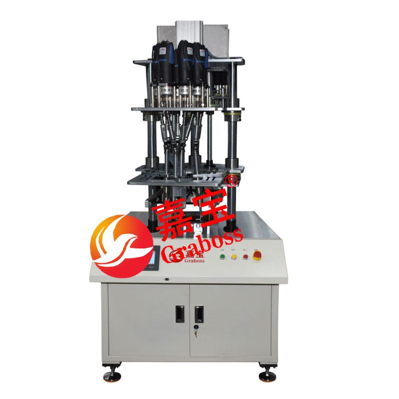 浙江某有限公司龙门式10(十)轴自动取螺丝机案例