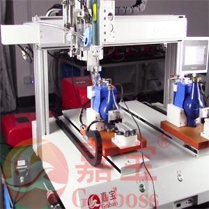 坐标式水表全自动锁螺丝机案例