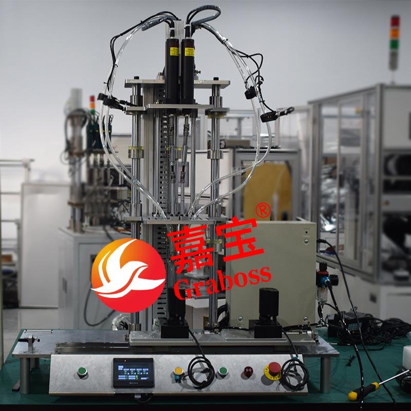 重庆某有限公司非标定制锁电器配件多轴锁螺丝机