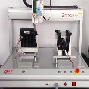 打印机墨盒自动锁螺丝机案例