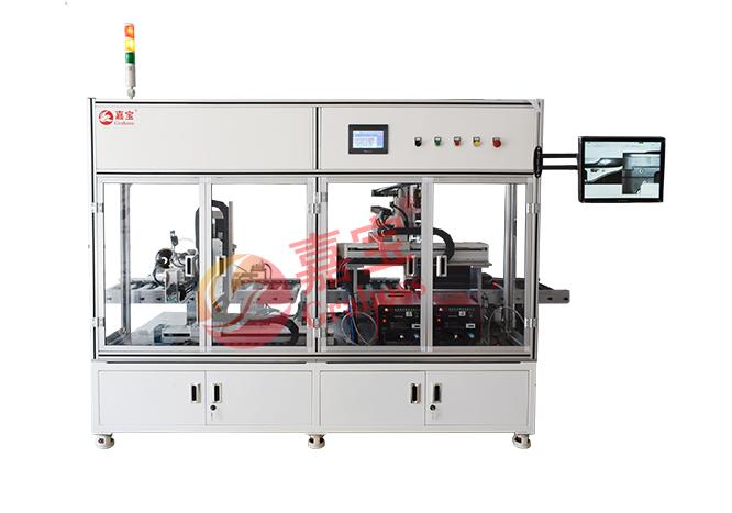 江苏省某有限公司在线式气吹锁打印机全自动螺丝机