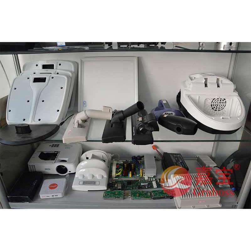 客户样品工件展示(家用电器,电子元器件)