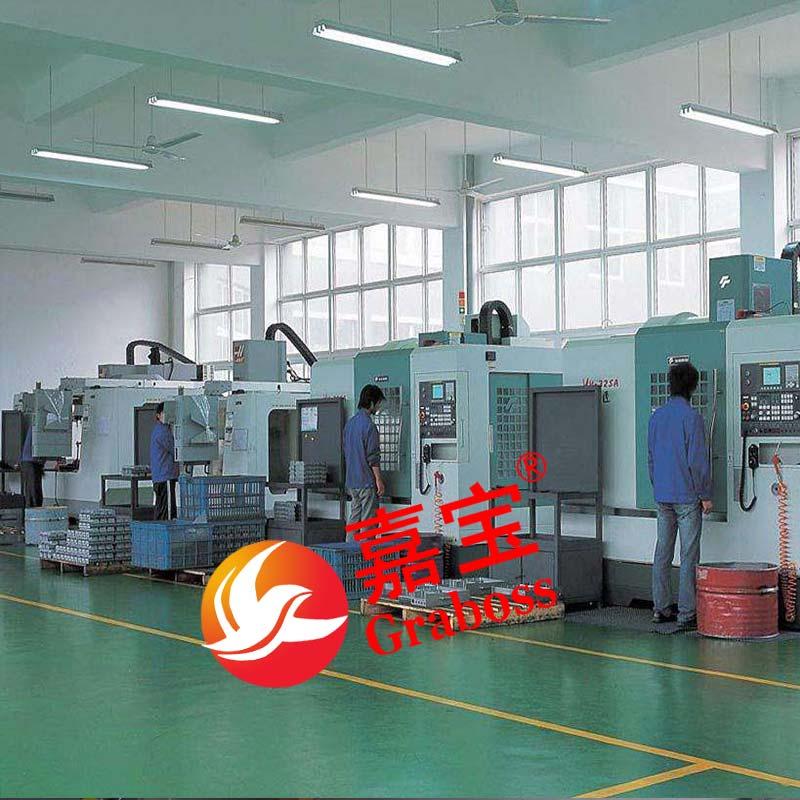 嘉宝螺丝机配件CNC加工图
