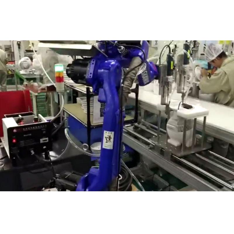 苏州嘉宝机械手自动锁螺丝机图