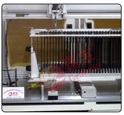 锁吸尘器配件螺丝机生产图