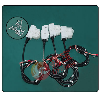 桌面双Y点胶+锁付健身器材样品及螺丝图