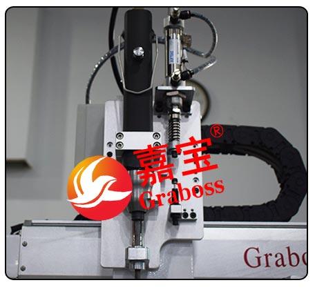 桌面双Y轴气吸式双供料双电批锁螺丝机——电动起子及夹头图