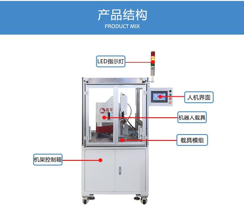 在线式机械手锁洗碗机水泵螺丝机结构图
