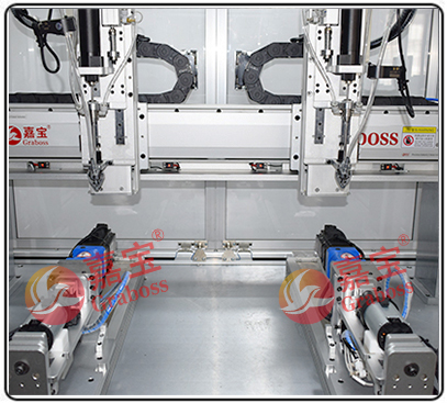 落地式旋转双三轴锁按摩椅马达设备螺丝机 -吸嘴图