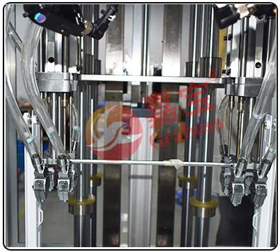 四轴气吹式锁健身器材螺丝机机头