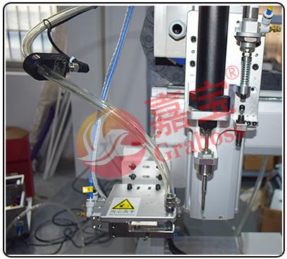 落地式锁螺丝机-外吹磁吸锁清洁设备螺丝机