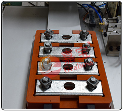 桌面型四轴锁全自动锁螺母机图
