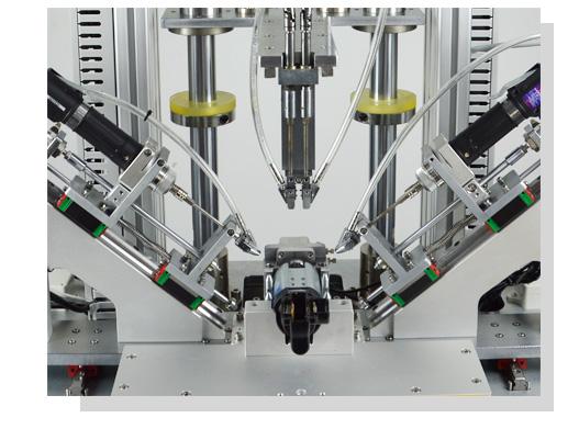 按摩椅马达多轴全自动锁螺丝机夹头