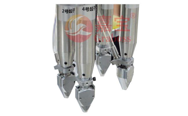 遮阳伞伞杆全自动四轴拧螺丝机夹头