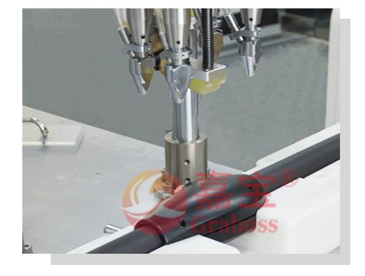 遮阳伞伞杆全自动四轴拧螺丝机自动送料