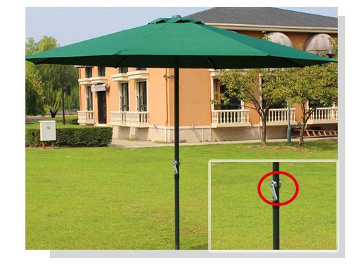 遮阳伞伞杆全自动四轴拧螺丝机锁付产品图
