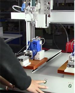 嘉宝GB-Y331-J水表锁螺丝机-操作图