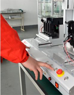 嘉宝GB-Y331打印机配件双工位全自动拧螺丝机-操作图