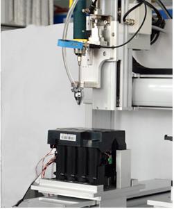 嘉宝GB-Y331打印机配件双工位全自动拧螺丝机-效率图