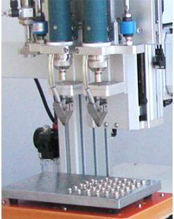 嘉宝GB-Y331-2D桌面型螺丝机双头双工位自动锁螺丝机-自动送料图