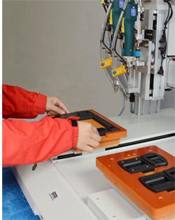 嘉宝GB-Y331-2D桌面型螺丝机双头双工位自动锁螺丝机-操作图