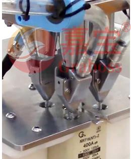 嘉宝GB-M-4落地式熔断器自动打螺丝机-自动送料图