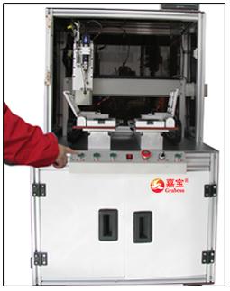 嘉宝GB-Y331-L落地式双Y轴车载WIFI拧螺丝机-操作图