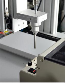 嘉宝GB-YX331双Y轴吸气式汽车把手自动送锁螺丝机-自动送料图
