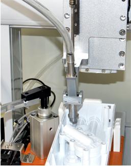 嘉宝GBL-Y331四轴气吹式塑胶件塑料制品自动锁螺丝机-自动送料图