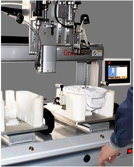 桌面型吹吸式双电批锁风扇马达罩螺丝机-操作图