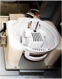桌面型吹吸式双电批锁风扇马达罩螺丝机-效率图