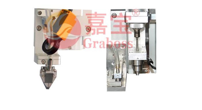 桌面型吹吸式双电批锁风扇马达罩螺丝机-夹头图-3