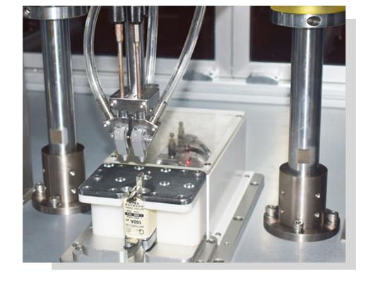 熔断器三轴落地式全自动锁螺丝机夹头