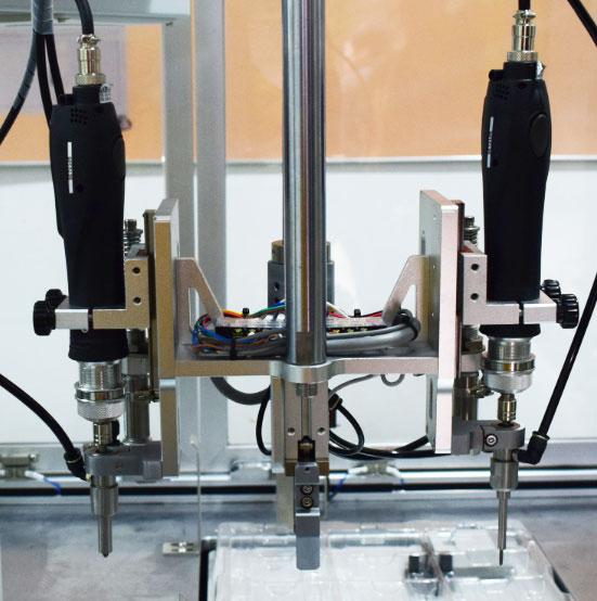 嘉宝锁铁盒螺丝机-效率图