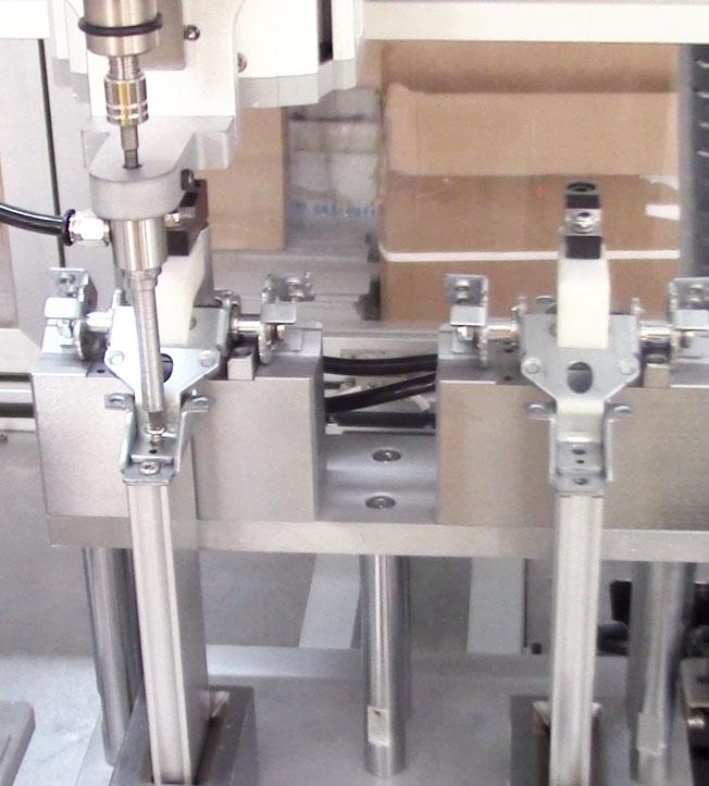 嘉宝锁电脑支架螺丝机-效率图