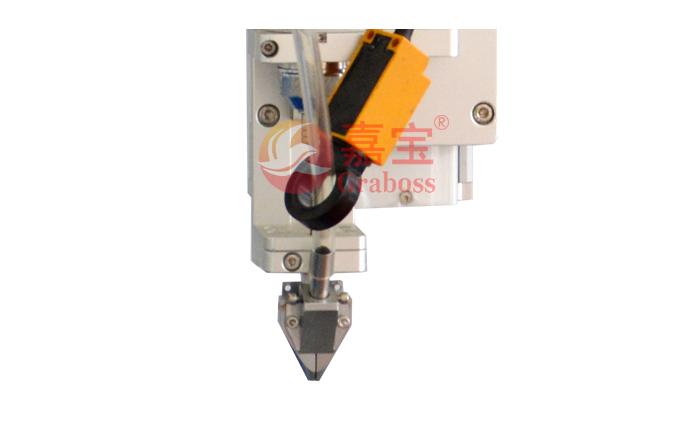 在线式CCD镜头定位全自动锁螺丝机夹头