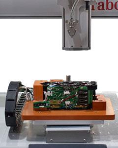 嘉宝GB-YX331-J双Y轴气吸式角垫拧螺丝机-自动送料图