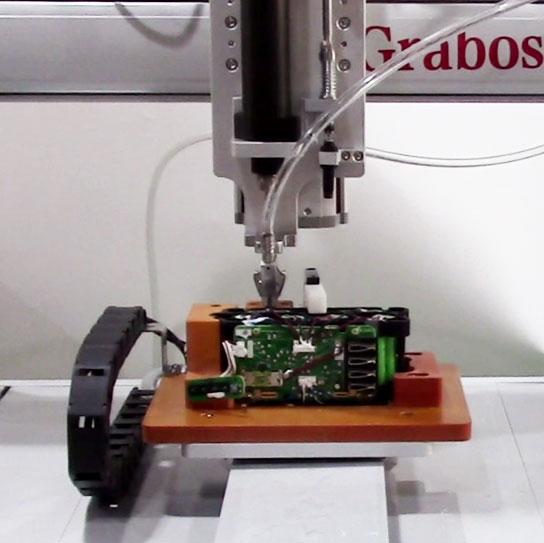 嘉宝GB-T331三轴吹气式全自动锁电池组螺丝机