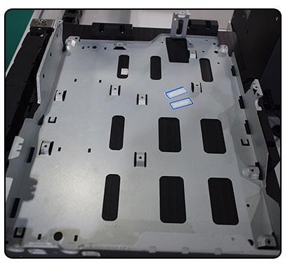 桌面型四轴吸气式打印机电路板外壳自动锁螺丝机-细节图-1