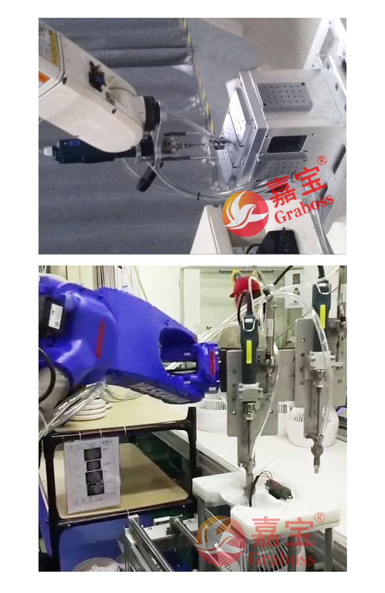 自动螺丝机锁付供料模组-案例应用