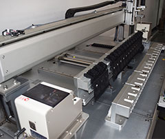 大型锁打印机螺丝机机器部分图