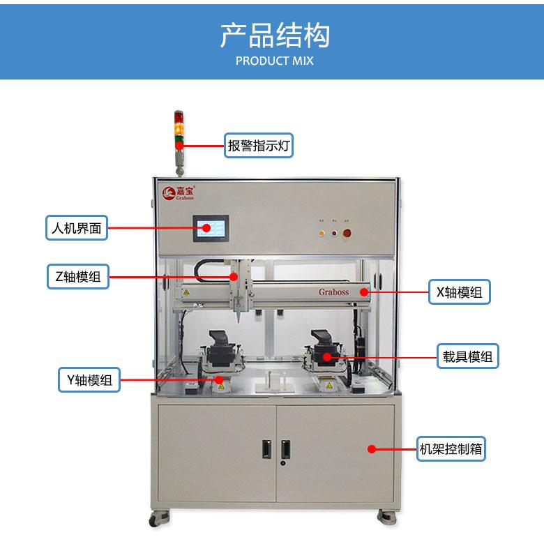 自动锁付吸尘器配件螺丝机结构图